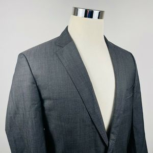Hugo Boss Mens 40L Jam76 Sharp 1 Sport Coat Gray